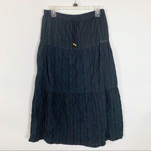 Billabong Black Maxi Skirt